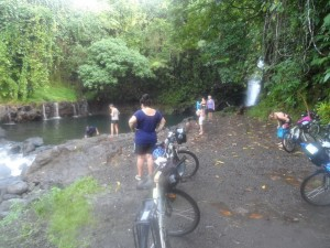 Waterfalls near Sili