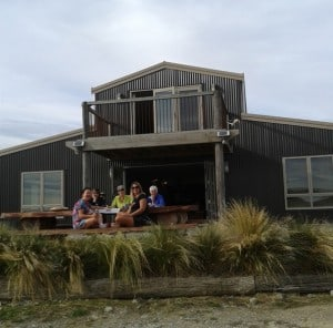 Our very nice accommodation at Tussock Lodge in Waipiata.