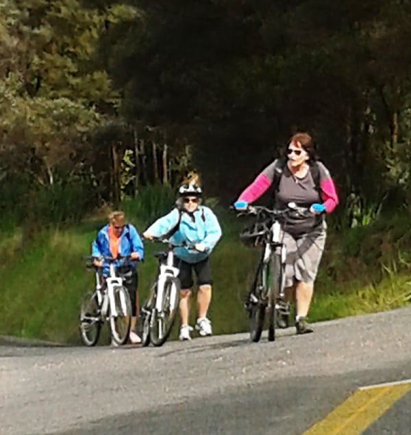 Cycling – Waiheke Island – Sept 2014