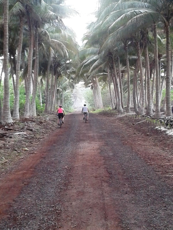 Samoan Cycling Adventure- Oct 2014