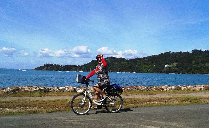 E-Cycling and Eco-Ziplining on Waiheke Island – Nov 2015