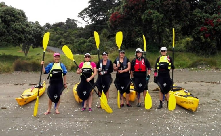 Kayaking at Mahurangi – Dec 2016
