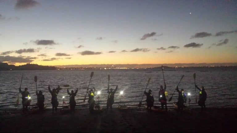 Sunset Kayaking Adventure – Feb 2017